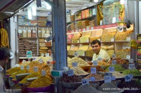 Old Delhi Dry Fruit shop- smile and a look
