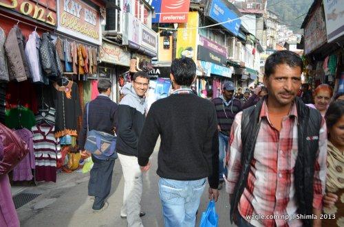 Dinesh Wagle in Shimla