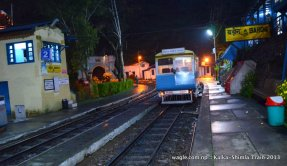 Shimla Toy Train at Barog Station