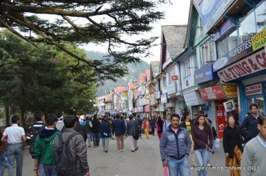 The Mall Road Shimla