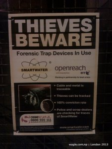 Thieves Beware: Forensic Trap Devices In Use
