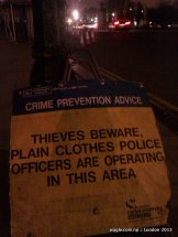 Thieves Beware, Plain Clothes Police Officers Are Operating In This Area