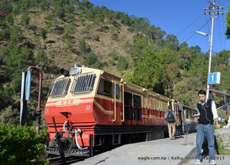 Toy Train to Shimla and Gokul
