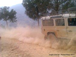 On way to Sanghutaar village of Ramechhap district