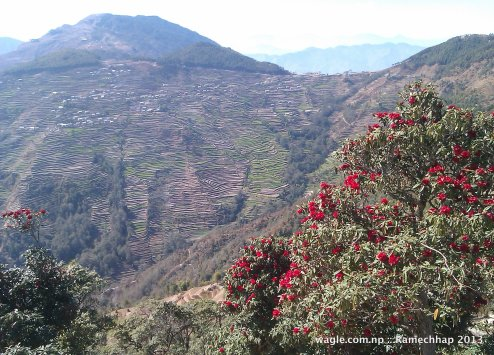 Doramba village of Ramechhap- beautiful and touristy place infamous for 2003 massacre of Maoist guerillas by Nepal Army soldiers.