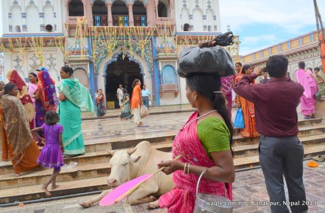 Main entrance of the Janaki Temple