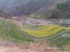 Near Salu village in Ramechhap district