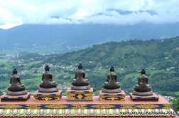 Buddhas keep their eyes over the city of Kathmandu