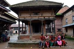 changunarayan temple complex- resting