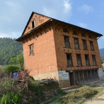 Four-story building- Nepali style