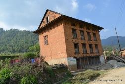 Four-story building- Nepali style