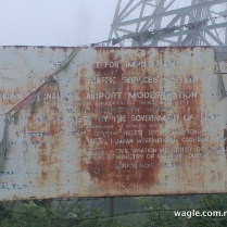 phulchoki tower and signboard
