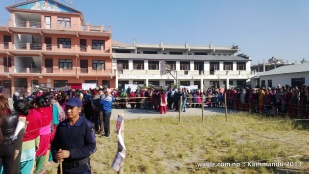 a polling station in kathmandu-2 constituency