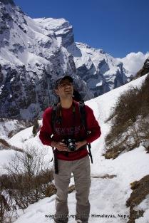 Modi Khola valley behind me