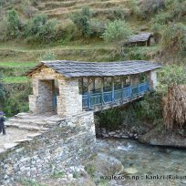A bridge over Sani Bheri