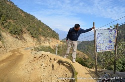 Where Rukum is separated from Salyan