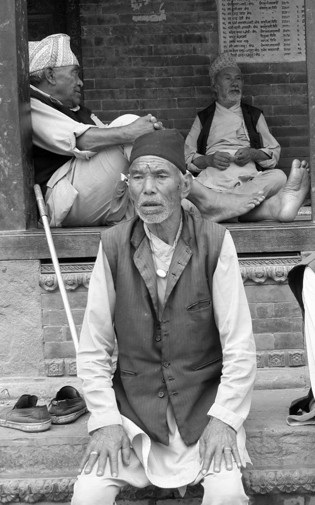Old men of bhaktapur 07