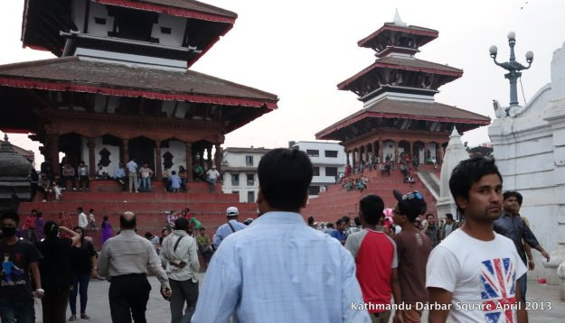 Kathmandu's Darbar Square (Basantapur).