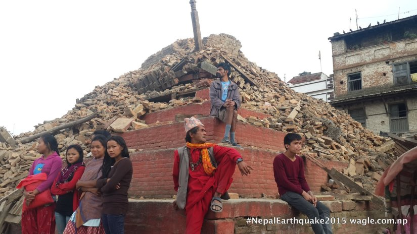 Kathmandu Darbar Square- A Day After the #NepalEarthquake