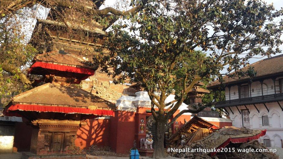 Entrance of Taleju Bhawani temple