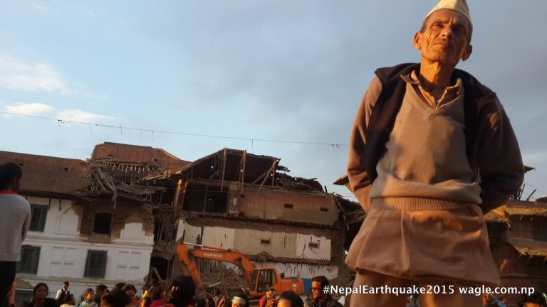 Basantapur: a day after the quake.