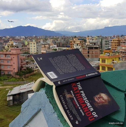काठमान्डूको कैदी: चार्ल्स एलेनको किताब द प्रजनर अफ काठमान्डू