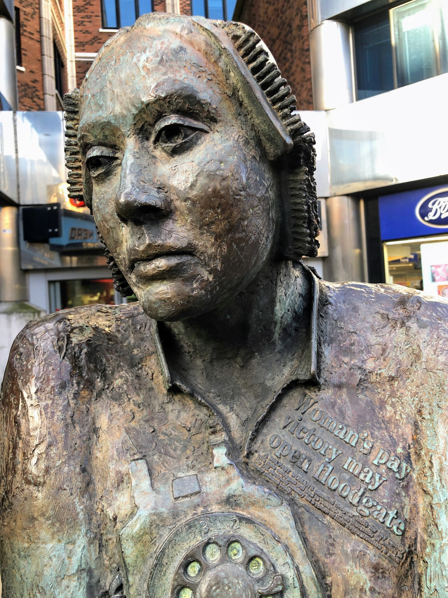 Monument to the Unknown Woman Worker, Belfast.